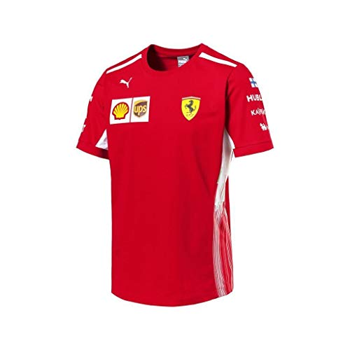 Scuderia Ferrari F1 Racing SF Team Driver Kimi Raikkonen Camiseta Ofic