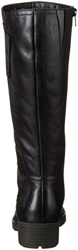 Jana 25504, Stivali da Equitazione Donna Nero (Black 001)