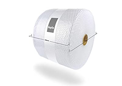 KEPLIN 500mm x 100m Roll Of Premium Quality Bubble Wrap Roll (Small Bubbles) Made in the UK