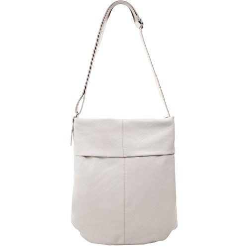 Borsa A Tracolla Da Donna Mademoiselle M14 28x39x14 Cm (lxhxp), Colore: Bianco Bianco