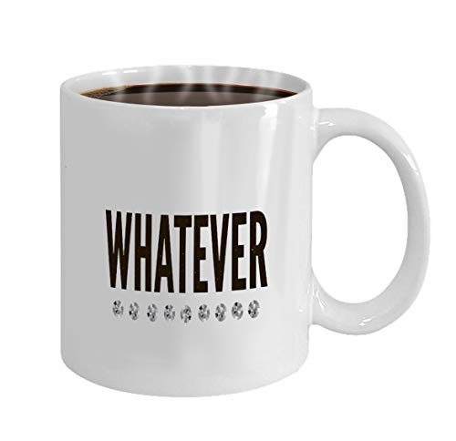 Funny Gifts for Halloween Party Gift Coffee Mug Tea slogan whatever phrase graphic print fashion letter