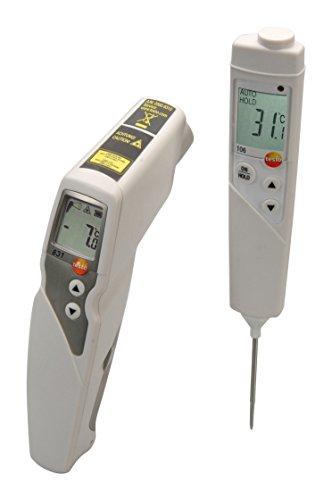 testo 831 - Infrarot-Thermometer + Testo 106 - Penetrations-Thermometer (Set)