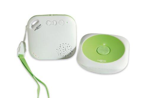 ANSMANN 1800-0025 Sydney DECT Babyphone strahlungsfrei zur optimalen Funkübertragung Sender mit Nachlicht