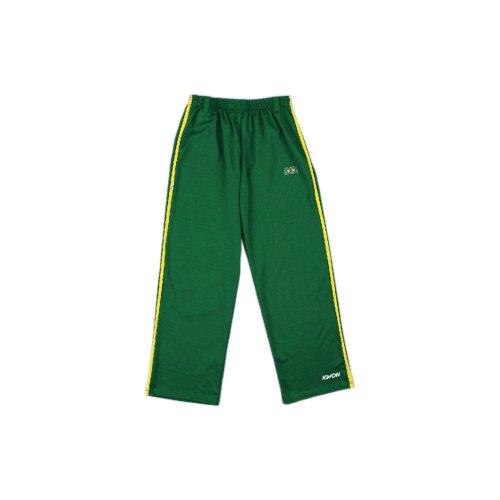 Kwon-Capoeira-Pantalon-motif-rayures-vertjaune-Kwon-XL
