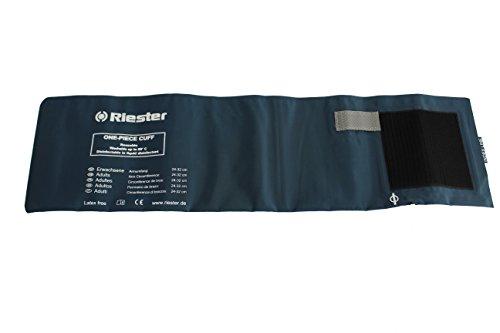 Riester 151 Desinfizierbare polsterlose Manschette, 2-Schlauch, latexfrei, Erwachsene, 54 cm x 14,5 cm