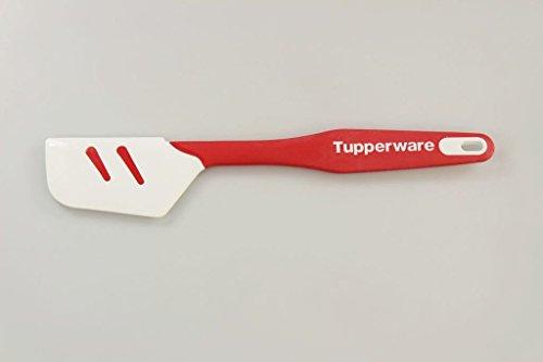 TUPPERWARE Spatule silicone blanc rouge