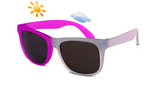 Real Kids Shades Kinder Switch Uv-Sonnenbrille, Hellblau/Violett, OneSize