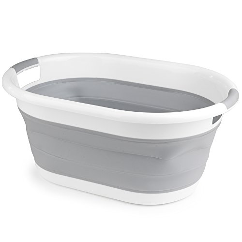 beldray-la034816-oval-collapsible-laundry-basket-white-grey