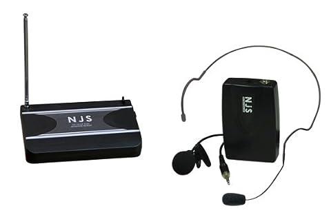 New Jersey Sound Système de microphone VHF à clipser sur