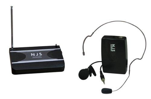 NEW JERSEY Sound Sistema microfono Tie clip Radio VHF