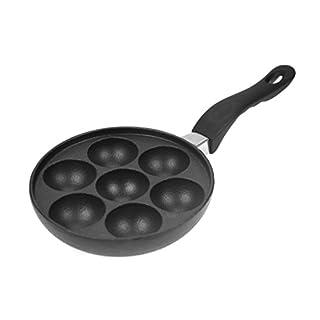 Augenpfanne Pförtchenpfanne Gusseisen Induktion Muffinpfanne