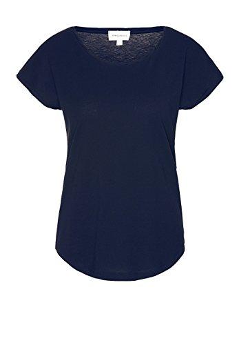 08 Langarm-t-shirt (ARMEDANGELS Damen T-Shirt aus Bio-Baumwolle - Laale - M Navy Fairtrade, GOTS, Organic, CERES-08)