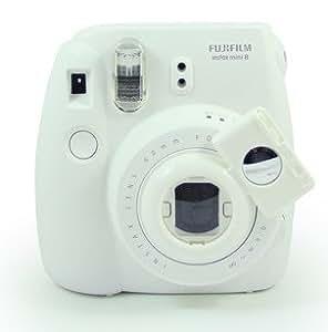 [Fujifilm Instax Mini 7s Mini 8 Camera Selfie Lens] -- CAIUL Instax Close Up Lens with Self-portrait Mirror For Fujifilm Instax Mini 8 mini 7s Camera.Polaroid 300 bag-WhiteII