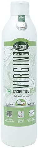 KLF Nirmal Cold Pressed Virgin Coconut Oil - 400 ml