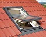 Fakro Optilight Dachfenster mit Eindeckrahmen 78 x 118