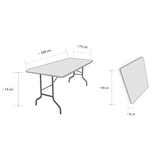 Vanage Gartentisch aus Kunststoff - 7