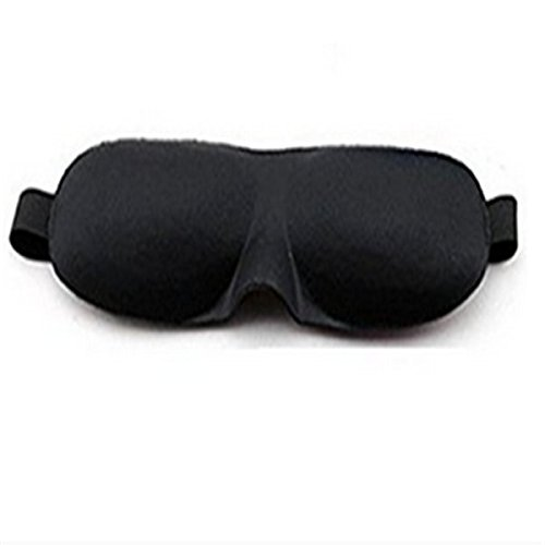 NiceButy 3D Eye Mask Weich Nap Cover Blind Fold Sleeping Eye Shade Blinder Eye Patch Sleep Brillen f?r Reisen -