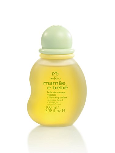Natura Brasil Huile de Massage Végétale pour Bébé 100 ml