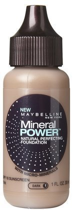 (Pack 2) Maybelline Mineral Power Natural Perfecting Foundation, Tan, 1 Fluid Ounce by (Maybelline Mineral Foundation)
