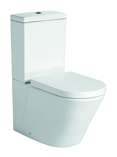 Stand-WC mit Spülkasten CT1099 - Wasseranschluss oben - inkl. Soft-Close-Deckel