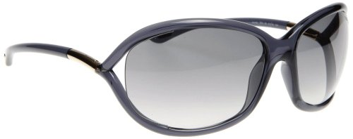 Tom Ford Jennifer Sonnenbrille FT0008 schwarz transparent