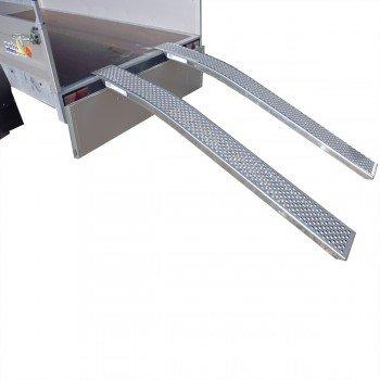 Alu-Auffahrrampen-Set Gewicht