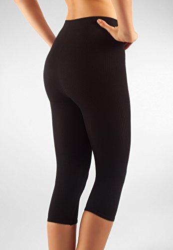 FarmaCell 122 pantaloncino lungo massaggiante guaina dimagrante anti-cellulite Bianco