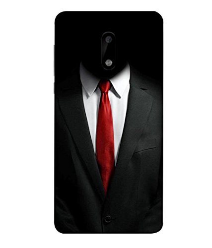 PrintVisa Designer Back Case Cover for Nokia 6 (Suit shirt tie formal decent)  available at amazon for Rs.385