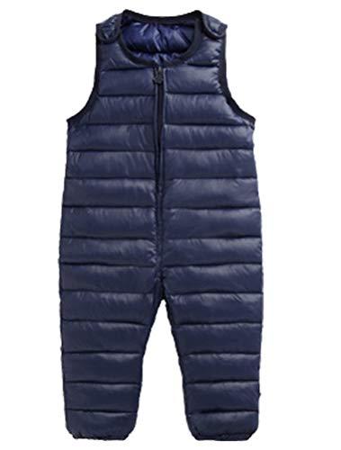 ARAUS Kinder Daunenhose Winter Jungen Warmes Leichtgewicht Reißverschluss Overall Jumpsuit Schneehose Mädchen 0.5-36 Jahre