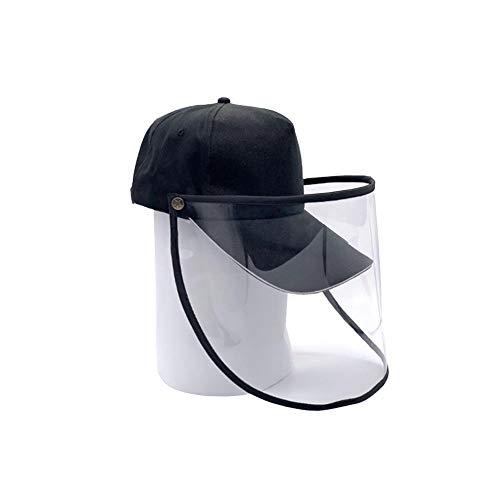 LINKLANK Schutzkappe Baseballkappe Antibeschlag, für Outdoor-Aktivitäten, Baseballkappe, Werbung, mit Abdeckung für Schutz vor Viren, D