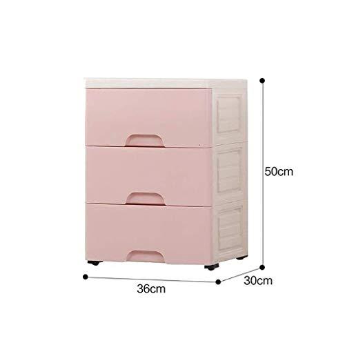 Umweltschutz-Material Küchenarbeitsplatten Informationen Kabinett Hygiene Produkte Badezimmer-Speicher-Plastik Pp - 36x30x50cm Aufbewahrungsbox (Color : B1)