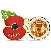 Manchester United Poppy Football Pin 2021