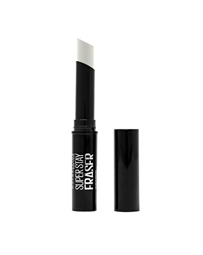Maybelline New York Super Stay Eraser Lippenstift-Entferner, entfernt langanhaltende & dunkle Lippenfarbe sanft, einfach und schnell, in Stick-Form, 2 g