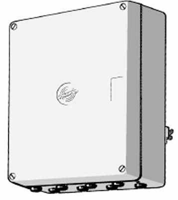 ASTRO LGH 30 - PROTECTOR DE CABLE (170 X 80 X 220 MM) GRIS
