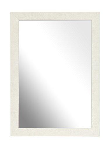 Inov8-A4-British-Marco-de-espejo-de-madera-2-unidades-blanco