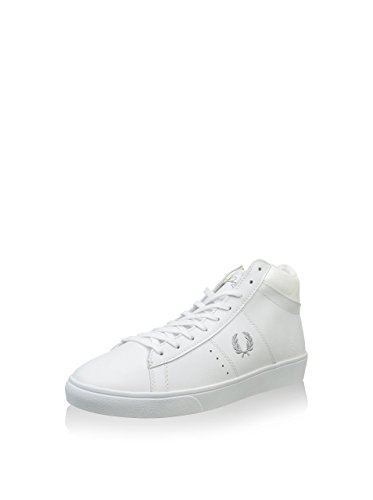 Fred Perry Spencer Mid Wmns Leather White Blanc