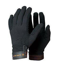 ARIAT TEK Grip REIT Handschuhe, schwarz, 9