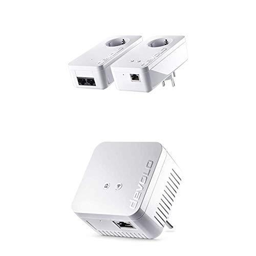 Devolo dLAN 550+ WiFi Starter Kit & Ergänzungsadapter
