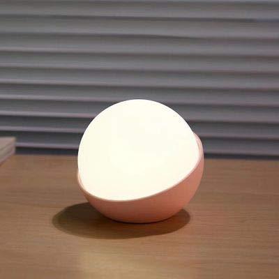 Silikon Nacht Perle Usb Licht Drei-Geschwindigkeits-Schalter Touch-Taste Typ Augenschutz Märchen Lampe Schlafzimmer Dekoration Warme Palme Nachtlicht Weißes Licht Zweifarbig Ohne Berührung (Palme-touch-lampe)