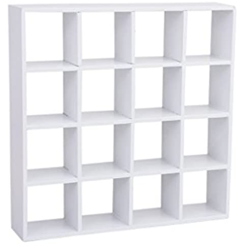 Dcolor 1/12 casa de munecas en miniatura 4 capas modelo de estante de exhibicion de madera de