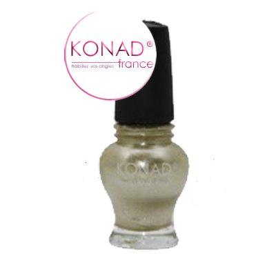 Vernis Stamping nail art Konad - Edition princess - Or tendre 12ml