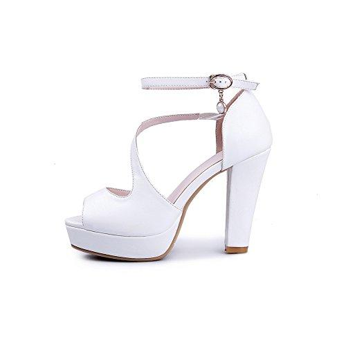 Adee, Sandali donna Bianco