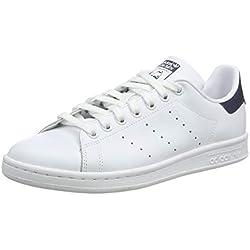 Adidas ORIGINALS Sneaker Stan Smith M20325 Weiß Blau, Schuhgröße:40 2/3