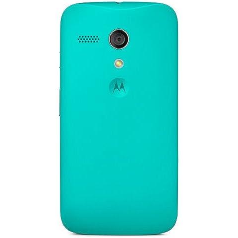 Motorola - Carcasa trasera oficial para Motorola Moto G, Azul Turquesa