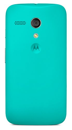 Motorola Color Clip-On Shell Hülle Schale Case Cover für Moto G Smartphone - Türkis