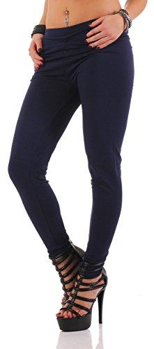 AE - Legging - Jegging - Femme bleu foncé
