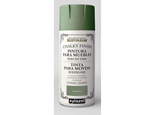Spray Efecto Tiza Chalk Paint Rust-Oleum Xylazel - 811 Oliva