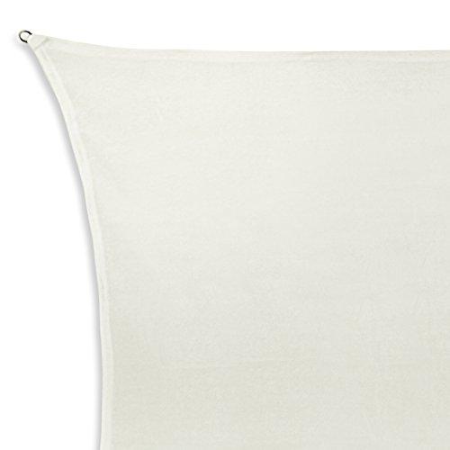El toldo SUN FRANCIS con forma rectangular 100 % poliéster [PES] en muchos colores diferentes, Tamaño:2m x 4m;Color:Coco