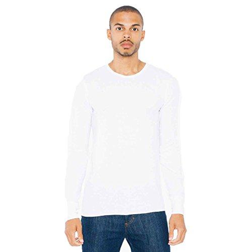 american-apparel-camiseta-para-mujer-blanco-blanco-xs