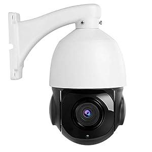 Telecamera di sicurezza PTZ esterna EU telecamera a cupola di sorveglianza domestica con telecamera di sorveglianza esterna con zoom ottico HD 1080P 30X con messa a fuoco automatica e zoom notturno